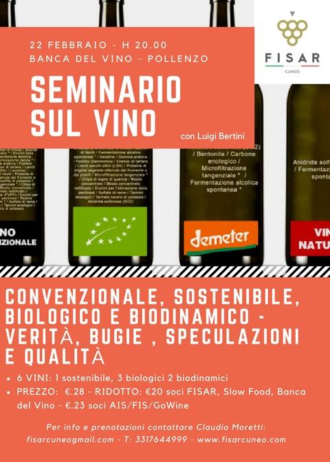 Convenzionale, sostenibile, biologico e biodinamico: Verità e Speculazioni